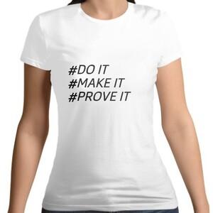 DO IT !女裝棉質圓領T恤