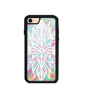 圖騰花花世界 iPhone 7 TPU Dual Layer  Bumper Case