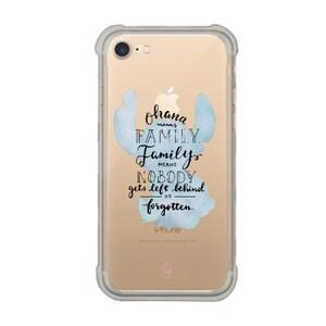 iPhone 7 Transparent Bumper Case - Stitch