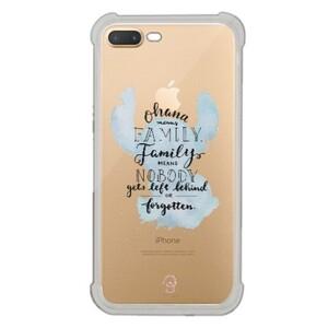 iPhone 7 Plus Transparent Bumper Case - Stitch