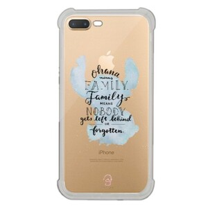 iPhone 7 Plus Transparent Bumper Case - Stitch