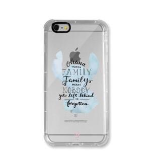 iPhone 6/6s Transparent Bumper Case - Stitch