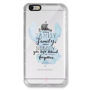 iPhone 6/6s Plus Transparent Bumper Case - Stitch