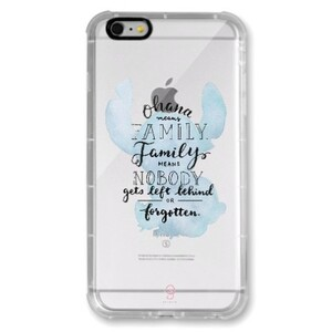 iPhone 6/6s Plus Transparent Bumper Case - Stitch