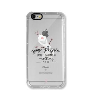 iPhone 6/6s Transparent Bumper Case - Olaf