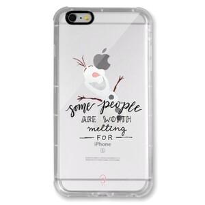 iPhone 6/6s Plus Transparent Bumper Case - Olaf