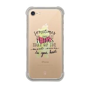 iPhone 7 Transparent Bumper Case - Pooh