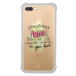 iPhone 7 Plus Transparent Bumper Case - Pooh