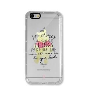 iPhone 6/6s Transparent Bumper Case - Pooh