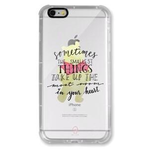 iPhone 6/6s Plus Transparent Bumper Case - Pooh