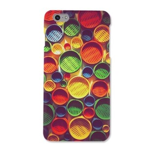 Colourful circle pattern iPhone 6/6s Matte Case