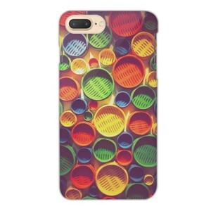 Colourful circle pattern iPhone 7 Plus Matte Case