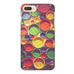 Colourful circle pattern iPhone 7 Plus Glossy Case