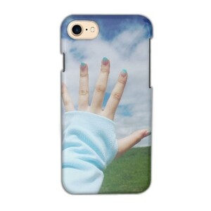 Touch the sky iPhone 7 Glossy Case