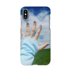 Touch the sky iPhone X Matt Case