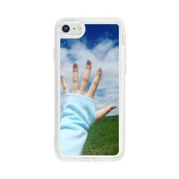 Touch the sky iPhone 7 Liquid Glitter Case