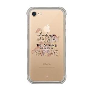 iPhone 7 Transparent Bumper Case - Lion King
