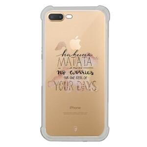 iPhone 7 Plus Transparent Bumper Case - Lion King