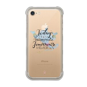 iPhone 7 Transparent Bumper Case - aladdin