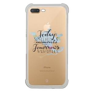 iPhone 7 Plus Transparent Bumper Case - aladdin