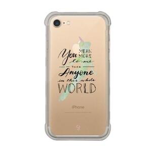 iPhone 7 Transparent Bumper Case - Peter Pan