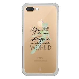 iPhone 7 Plus Transparent Bumper Case - Peter Pan