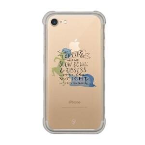 iPhone 7 Transparent Bumper Case - Inside Out