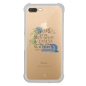 iPhone 7 Plus Transparent Bumper Case - Inside Out