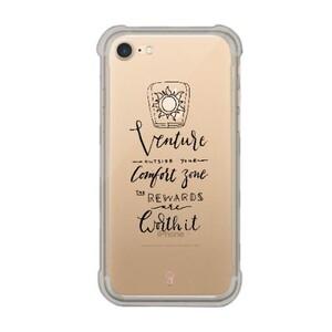 iPhone 7 Transparent Bumper Case - Rapunzel