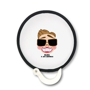 Bornki Foldable Round Fan
