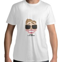 Bornki Men 's Cotton Round Neck T - shirt