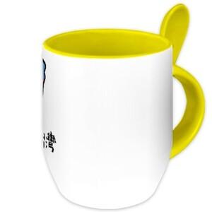 我來自台灣 Mug with Spoon