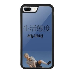 iPhone 8 Plus Bumper Case MY WAY 生活態度