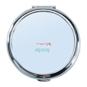 Round Compact Mirror MY WAY 生活態度