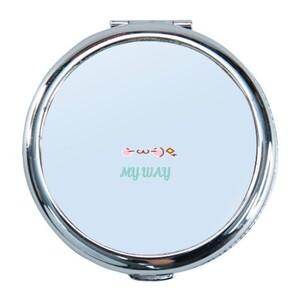 Round Compact Mirror MY WAY 生活態度