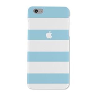 iPhone 6/6s Matte Sky Blue stripes Case