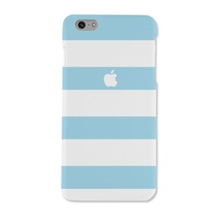 iPhone 6/6s Matte Sky Blue stripes Case