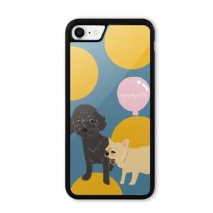 mi and b iPhone 8 Bumper Case