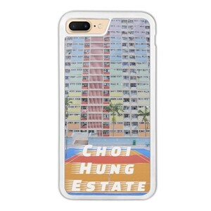 Choi Hung Estate iPhone 7 Plus Bumper Case, Hong Kong