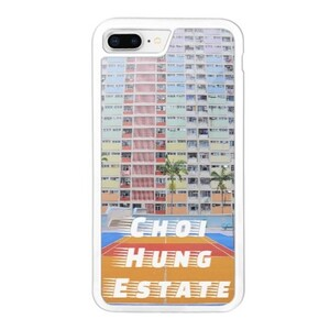 Choi Hung Estate iPhone 8 Plus Bumper Case, Hong Kong