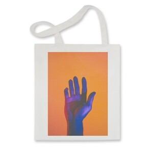 Hand me orange Tote Bag