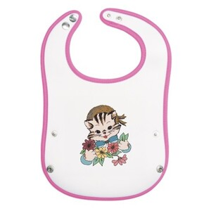 Cat Baby Pocket Bib