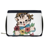 Cat Wallet with Coin Purse