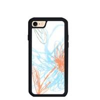 四季花開 好運來 iPhone 7 TPU Dual Layer  Bumper Case