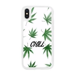 iPhone X Transparent Slim Case Chill