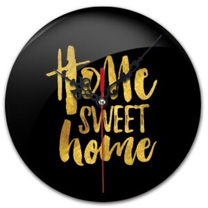 home sweet home, Round Wall Clock