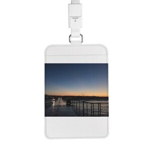Card Holder with Lanyard
