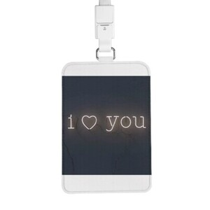 ❤ Card Holder with Lanyard