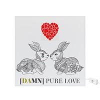 """DAMN PURE LOVE"" Square Light Box"
