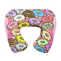 Donuts Party Neck pillow